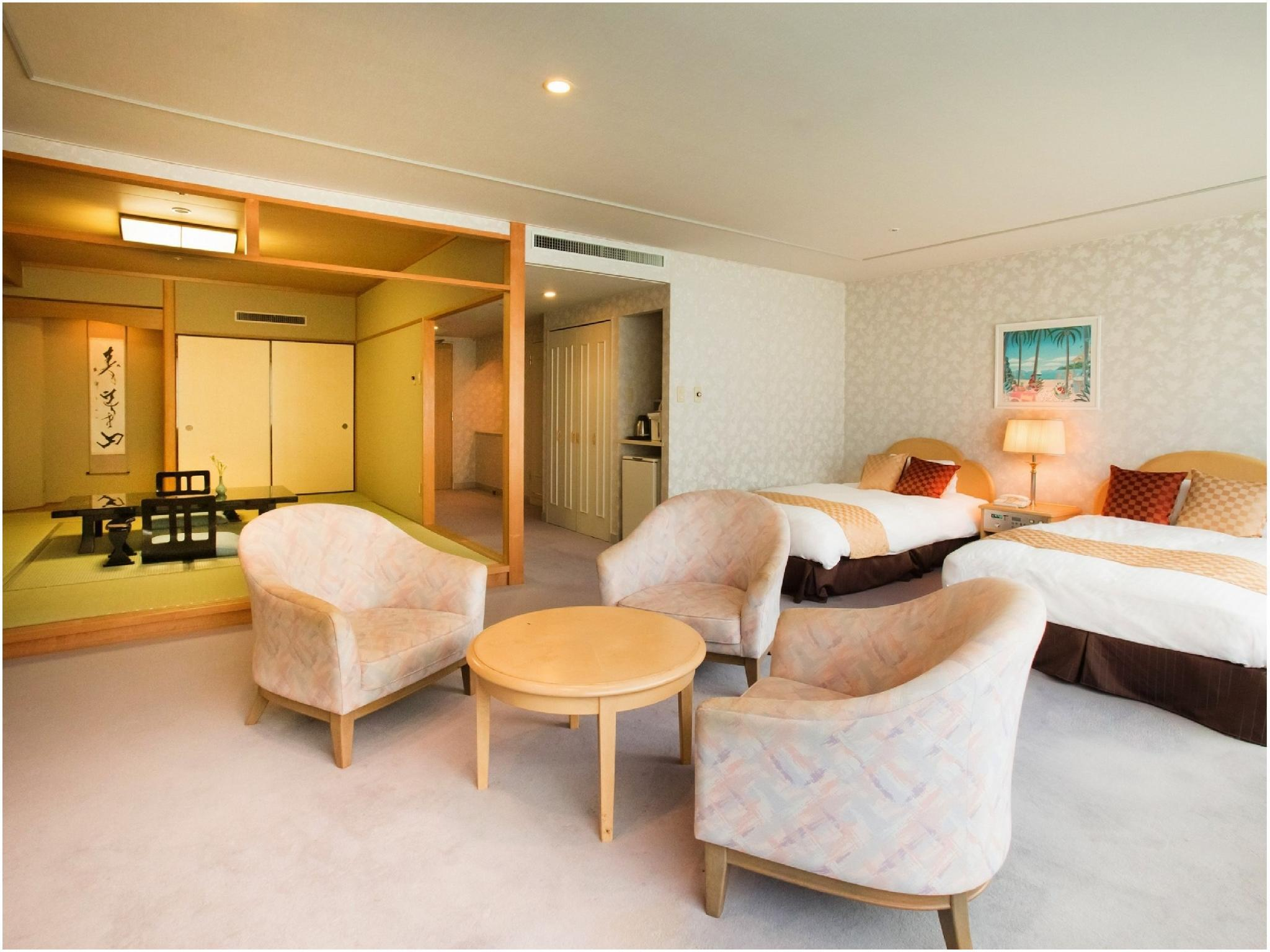 標準樓層 和洋式房(2張床) (Japanese/Western-style Room (2 Beds, Standard Floor))