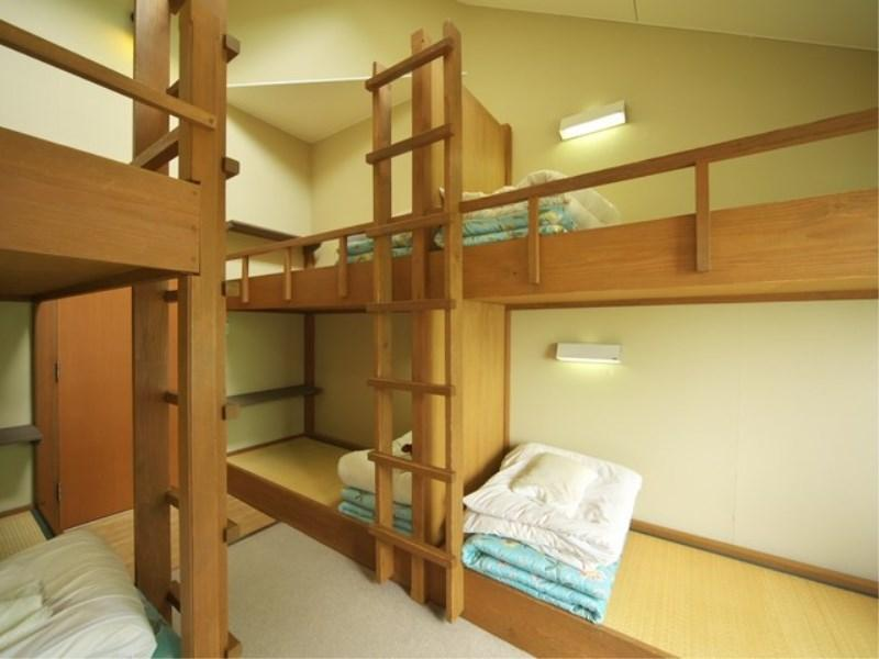 SB-Aタイプ(スキーヤーズベッドAタイプ)<定員6名> (Skier's Room (Bunk Beds, Type A))