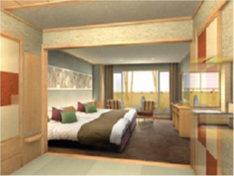 和式雙人雙床房(紡織主題) (Japanese-style Twin Room (Fabric Theme))
