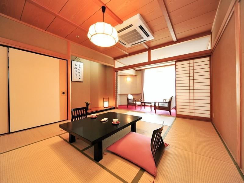 登龍館 和式房+寬走廊 (Japanese-style Room with Hiroen Space (Toryu Wing))