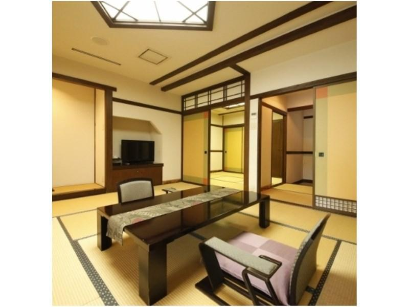 Special Japanese-style Room with Open-air Bath (Natsukashi-kan Wing)