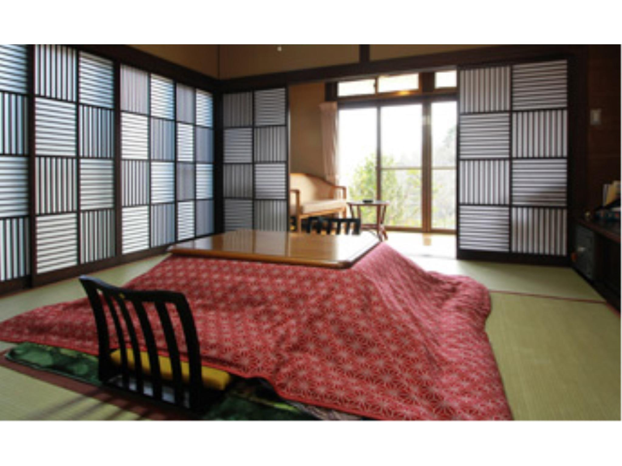 다다미 객실(본관) *객실내 세면대, 화장실 없음 (Japanese-style Room (Main Building) *No washroom or toilet in room)