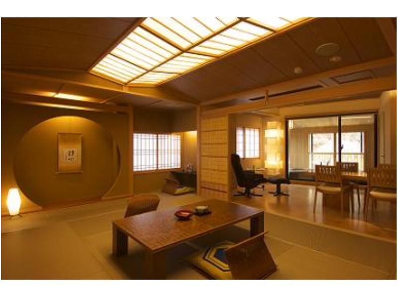 Japanese-style Room with Open-air Bath (Shifuku-no-Ma Type)