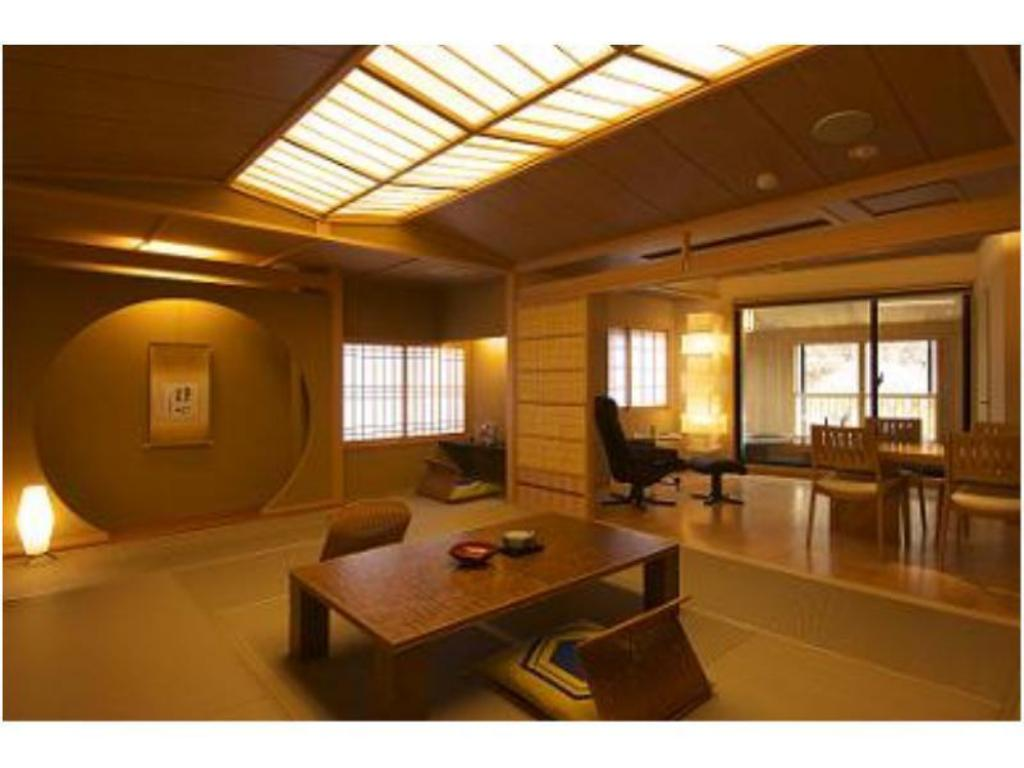 Japanese-style Room with Open-air Bath (Shifuku-no-Ma Type) - Guestroom