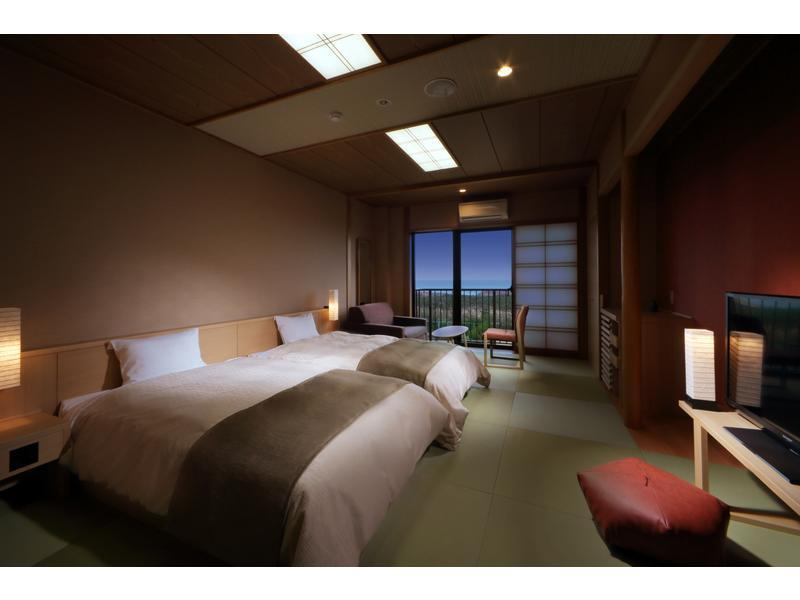 다다미 객실 (Smart Modern Japanese-style Room (2 Beds))