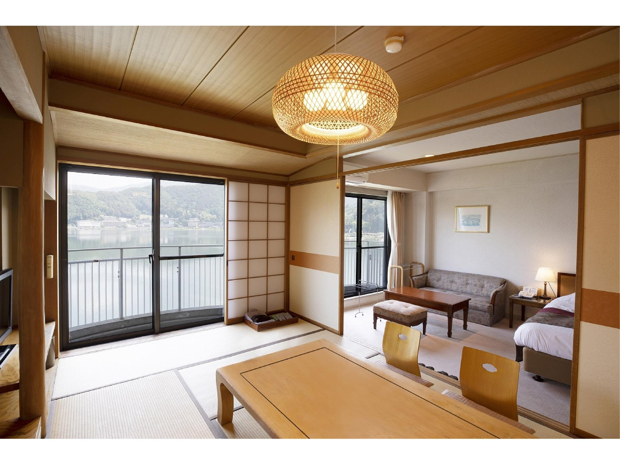 東館 和洋式房(2張床) (Japanese/Western-style Room (2 Beds, East Wing))