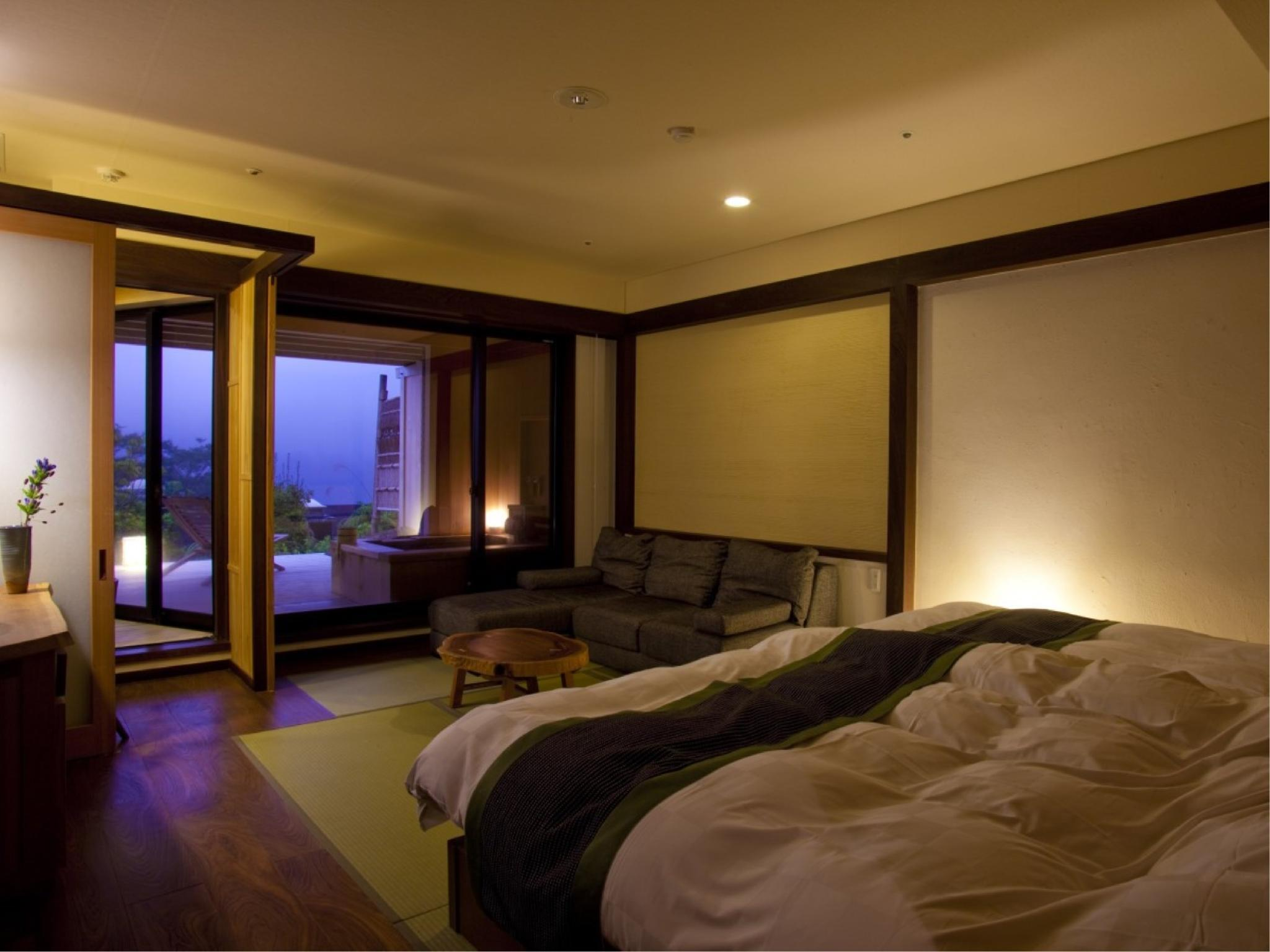 和室ツインベッド|10畳 (Japanese-style Room with Twin Beds)
