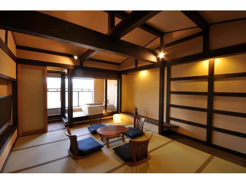 露天風呂付 和室(36平米)|10畳 (Japanese Style Room with Open-Air Bath)