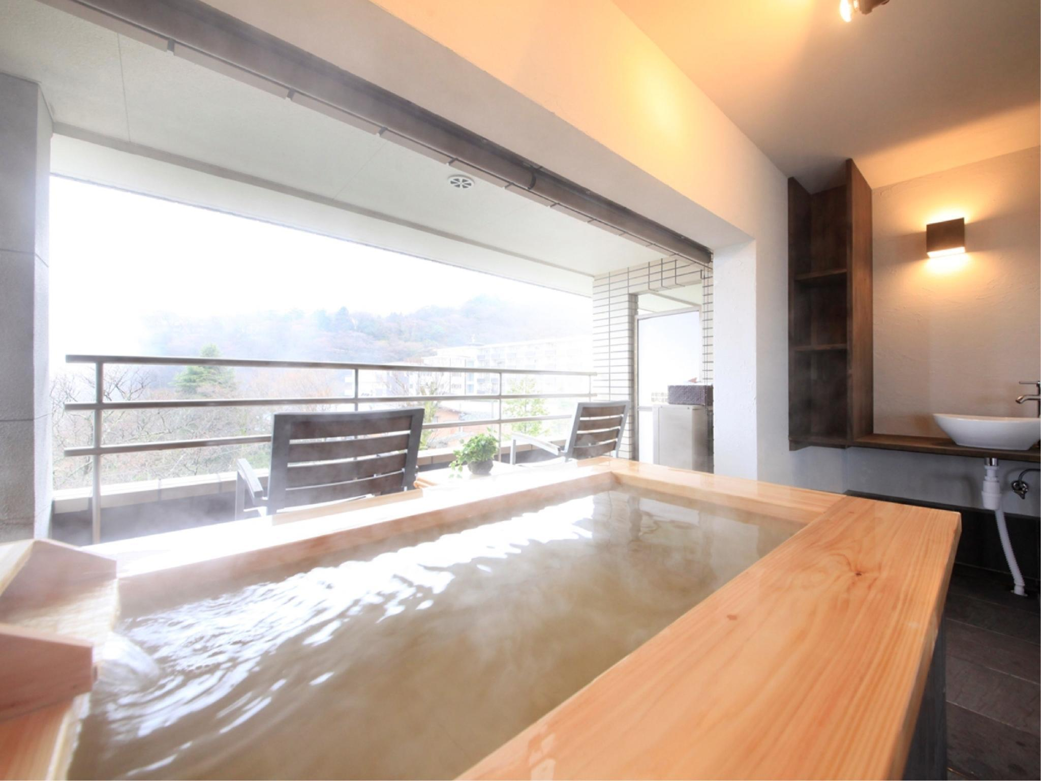Deluxe Japanese/Western-style Room with Open-air Bath