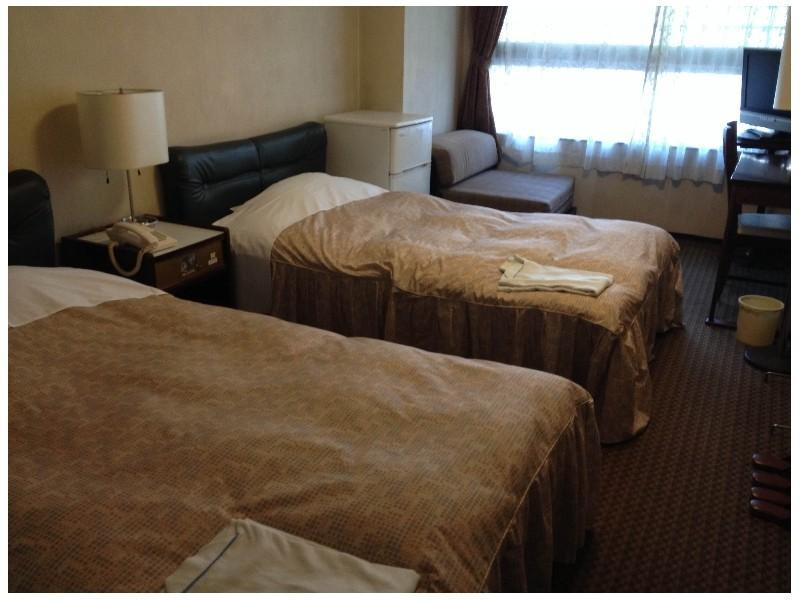 ツイン|18平米 (Twin Room (2 Beds + 1 Sofa Bed, Type B))