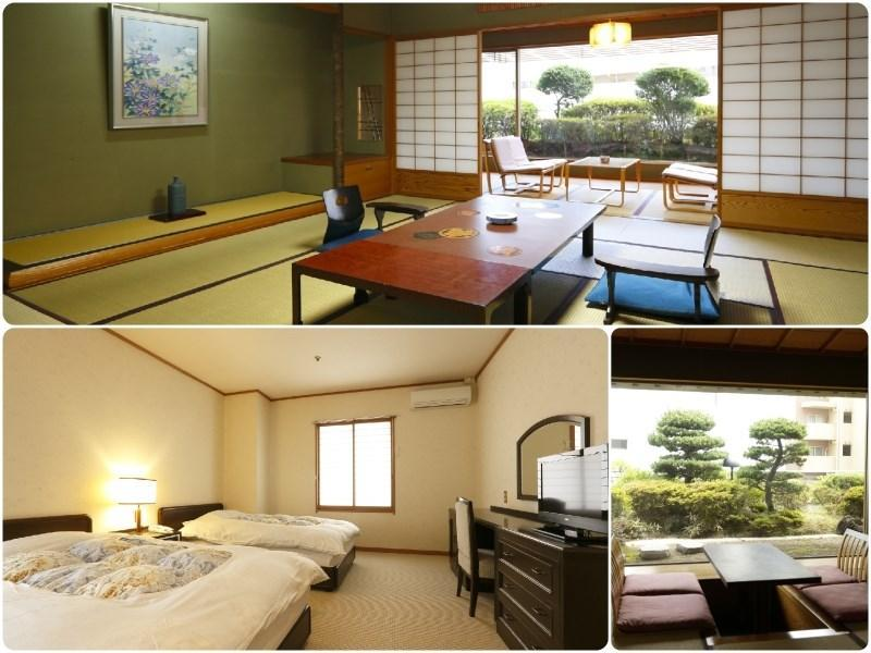 Japanese/Western-style Room (Twin Beds) (Japanese Western Style Room with Twin Bed)