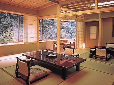和室 (Special Japanese-style Room with Indoor Hot Spring Bath)