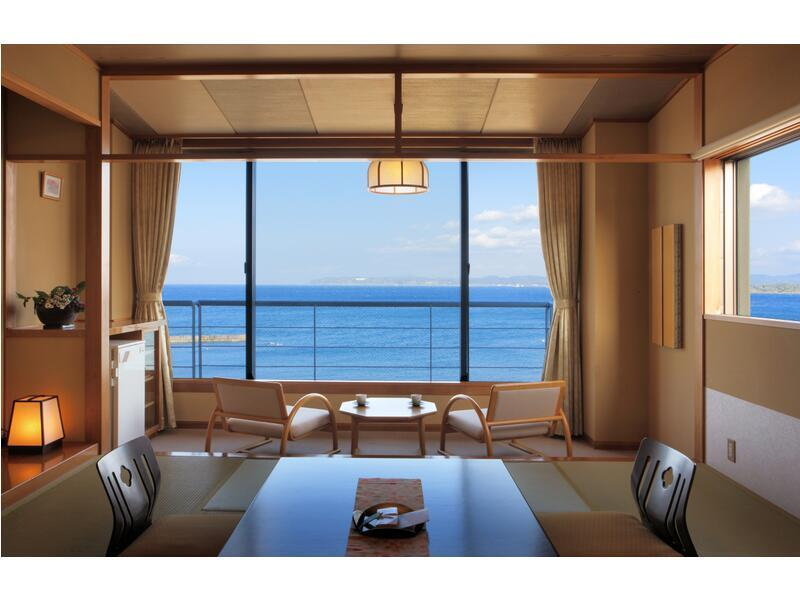 花之館 海景和式房 (Japanese-style Room (Ocean View, Hana-no-Yakata Wing))