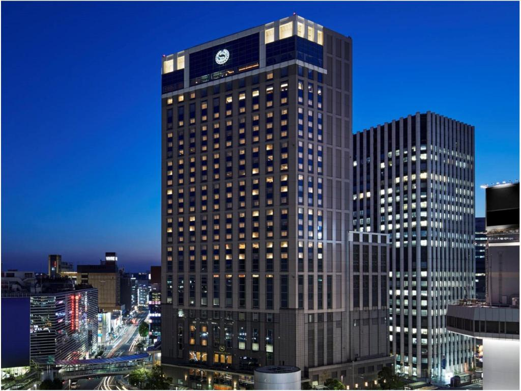 住宿外观 横滨湾喜来登酒店 (Yokohama Bay Sheraton Hotel And Towers)