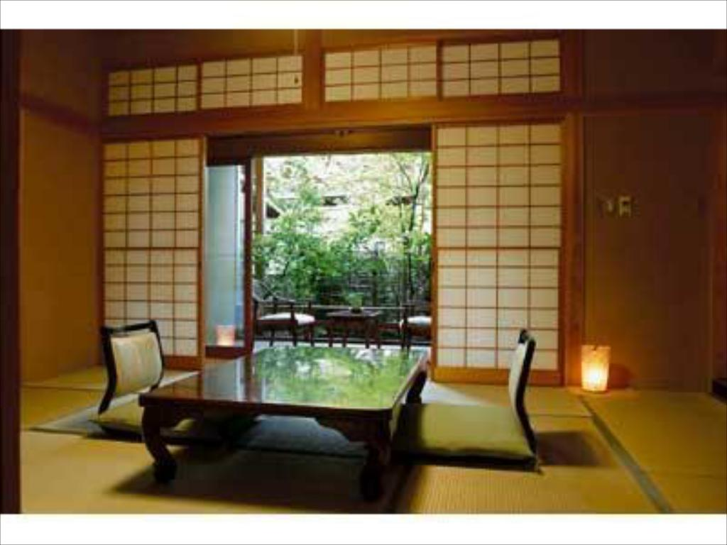 Japanese/Western-style Room with Indoor Bath (2 Beds) - ห้องพัก