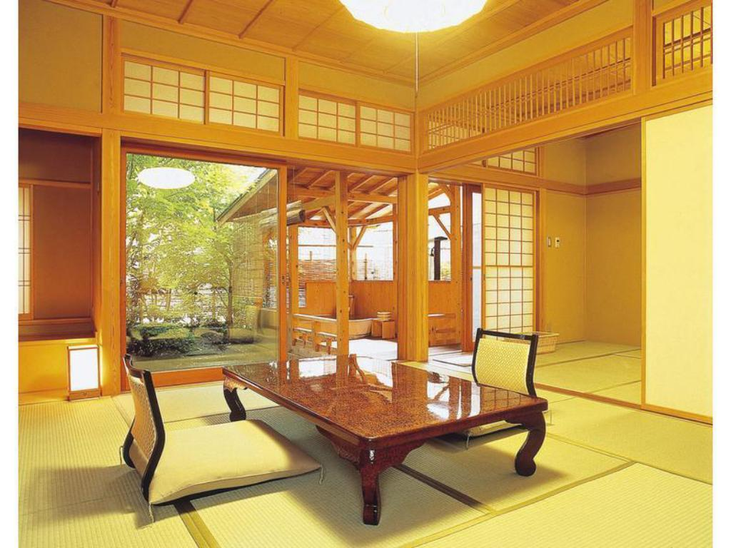 Japanese Style Room with Open-Air Bath - Guestroom Kashiwaya Honten