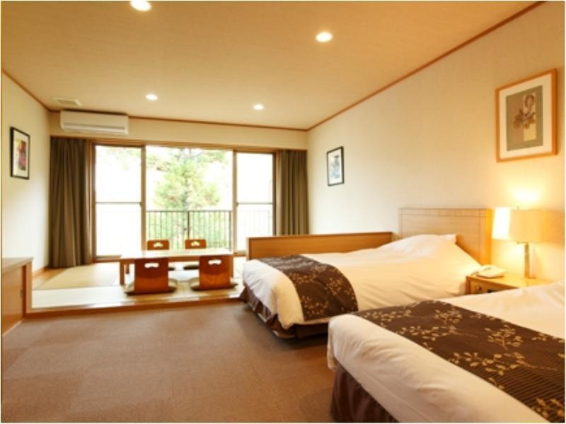 【禁煙】和洋室46平米/水月の庄(本館) (Japanese/Western-style Room (2 Beds, Main Building) *Has shower)