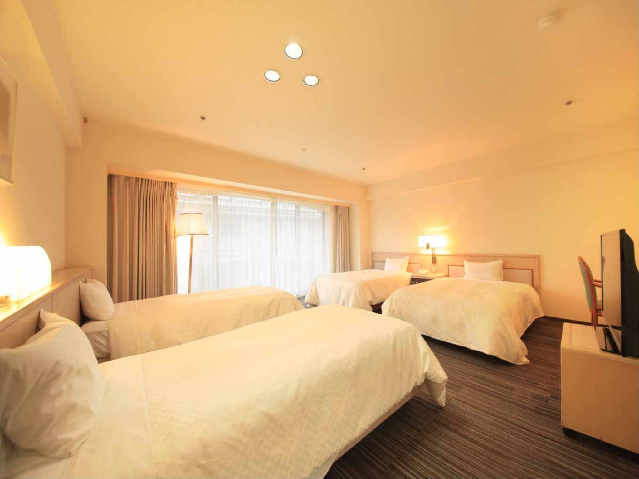 Deluxe Twin Room (Semi-double Beds, North Wing)