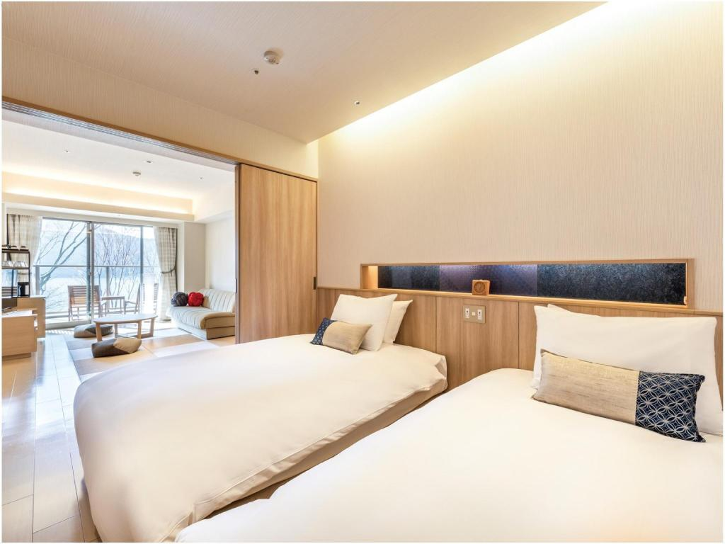 Deluxe Japanese/Western-style Room with Open-air Bath - Guestroom