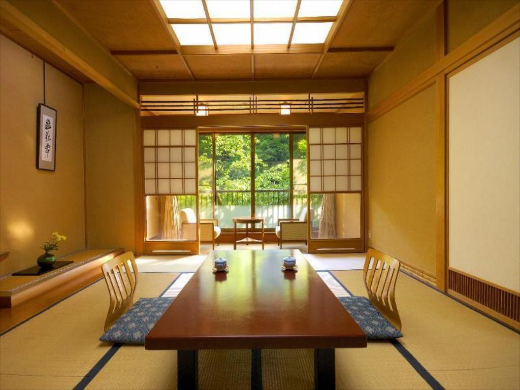 Japanese-style Room with Hiroen Space (Annex) - Guestroom