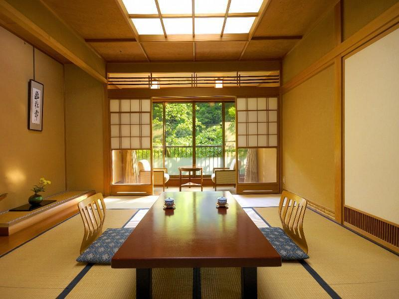 Japanese-style Room with Hiroen Space & Hot Spring Bath (Annex)