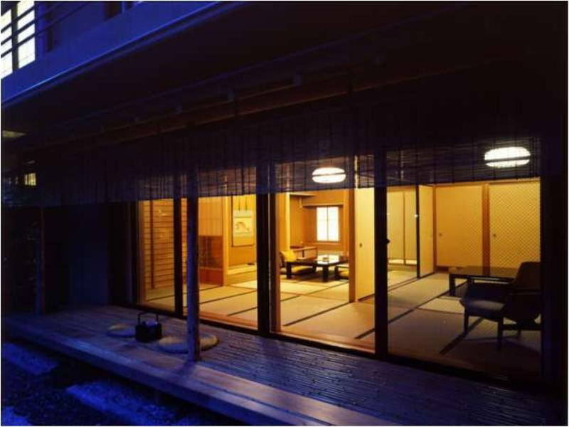 다다미 객실S(코너룸/정원) (Japanese-style Corner Room with Garden (Type S))