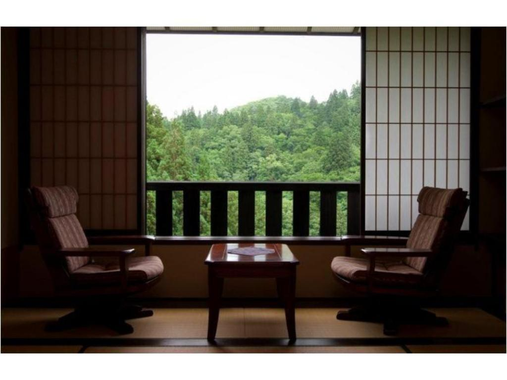 Japanese-style Room *No bath in room, From Apr.1 , 2020: Japanese-style Room with Bed/s (Max. 3 guests) - View Takimikan