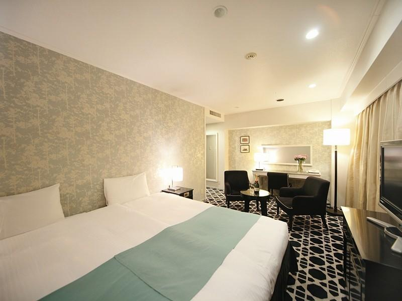 프리미엄 더블룸(고층) (Premier Double Room (Upper Floors))