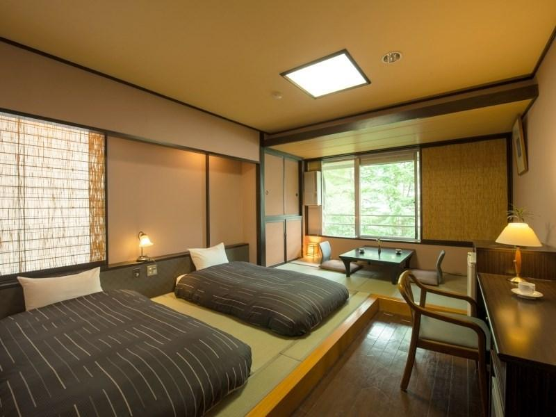 Twin Room (The Guest Japanese-style Club Room (2 Japanese Beds))