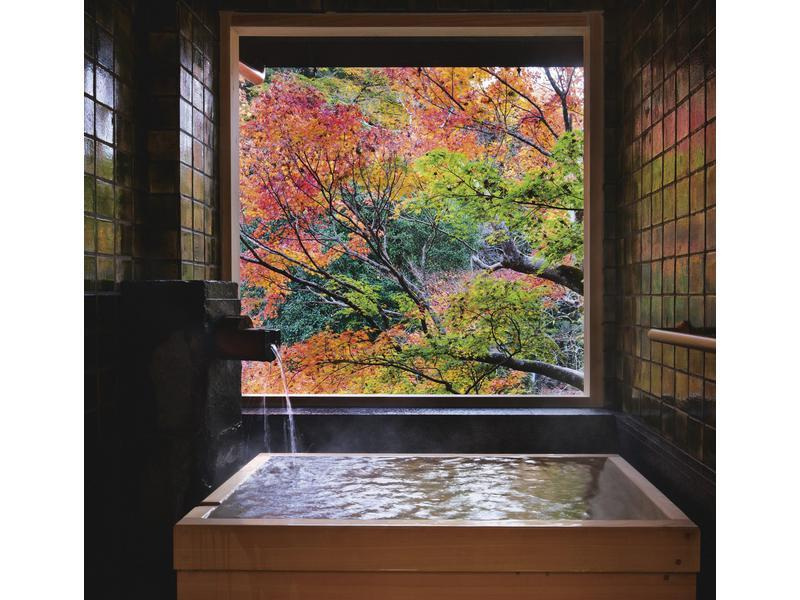 Japanese/Western-style Room with Semi Open-air Bath (2 Beds)