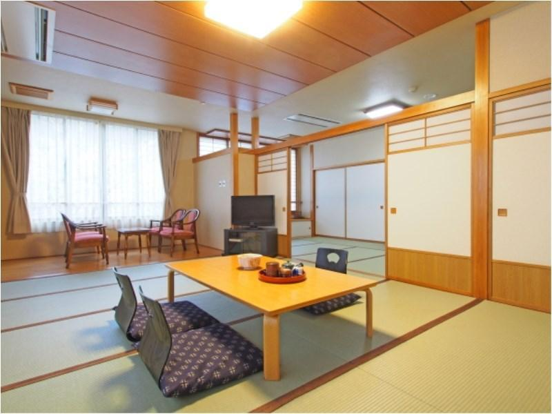 特别房(和式房+宽走廊) (Special Japanese-style Room with Hiroen Space)