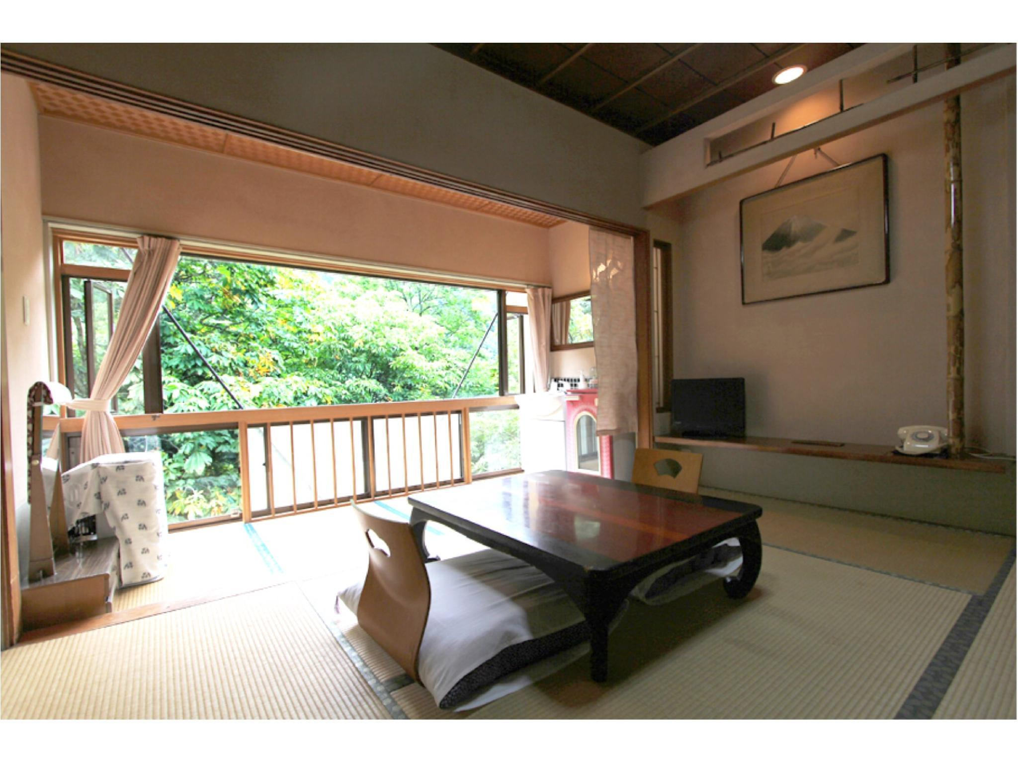 Japanese-style Room (Keikoku Wing) *No bath or toilet in room