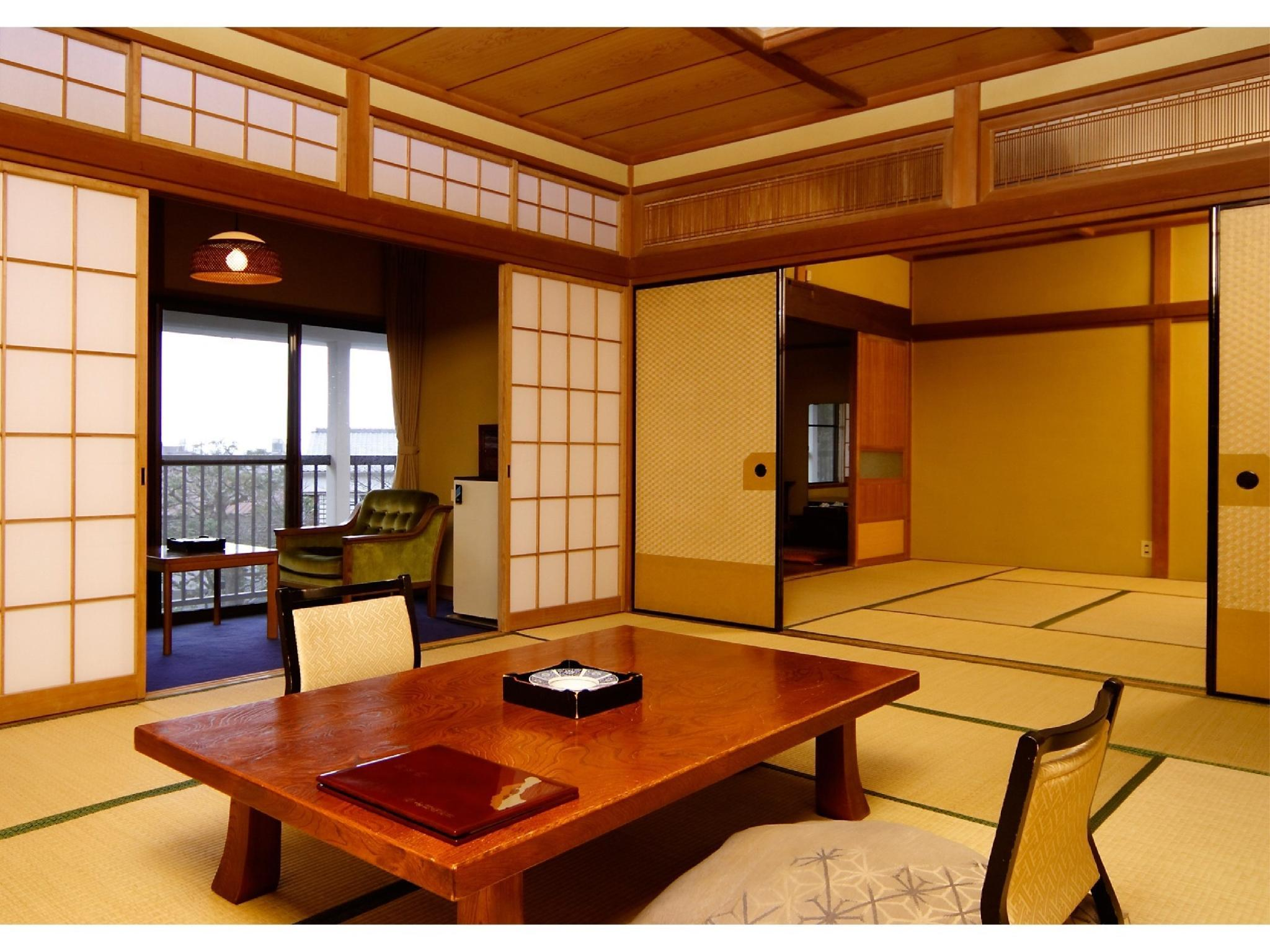 本館 和室 離れ|10畳+踏込 (Detached Japanese-style Room (Main Building))