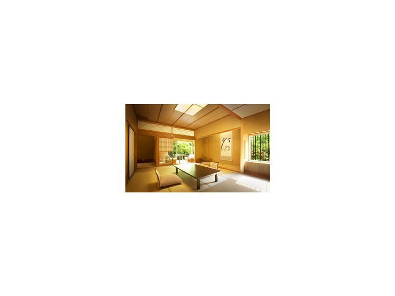 다다미 객실 (Japanese-style Room with Semi Open-air Bath + Bedroom (2 Beds) or Japanese-style Room with Semi Open-air Bath)