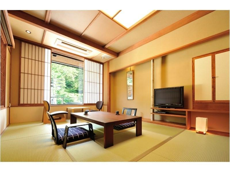 山櫻 特別房(和式房+寢室+露天風呂) (Special Room (Japanese-style room + Bedroom + Open-air Bath, Yamazakura Type))