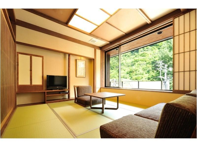 山法師 特別房(和式房+寢室+露天風呂) (Special Room (Japanese-style Room + Bedroom + Open-air Bath, Yamaboushi Type))