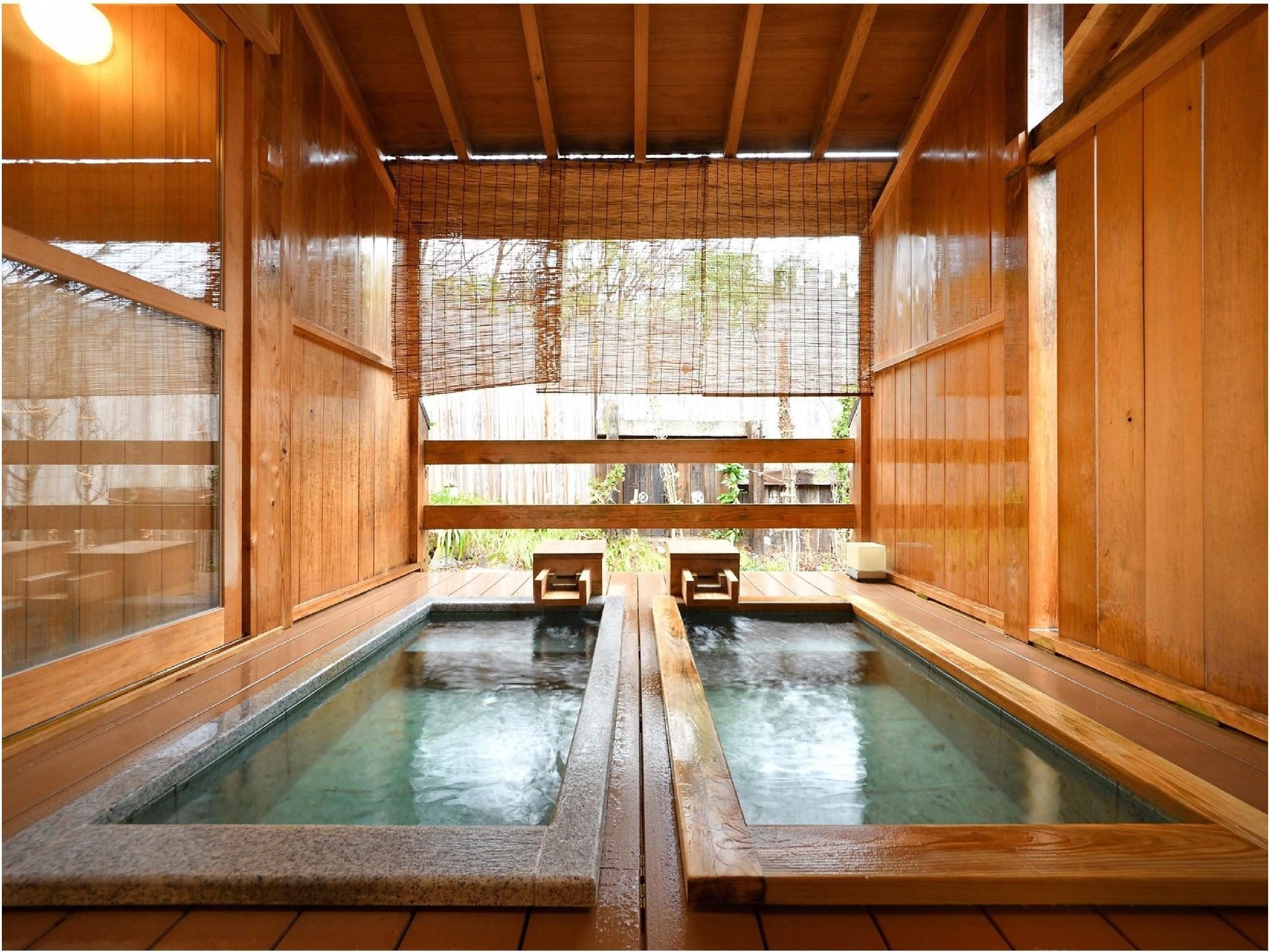 独立房(和洋式房+露天风吕) (Detached Japanese/Western-style Room with Open-air Bath)