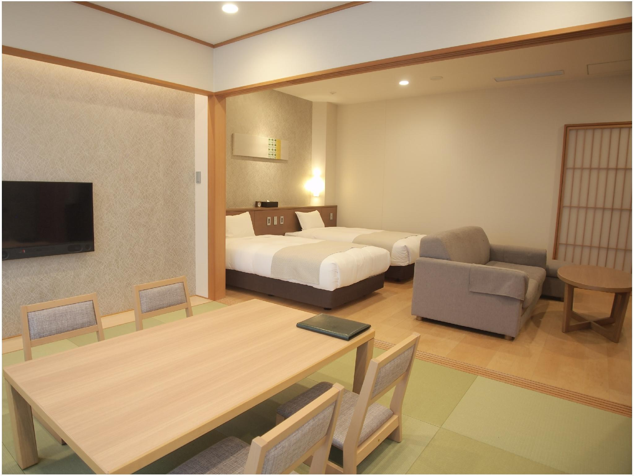 Deluxe Japanese/Western-style Room (Asuka Annex)