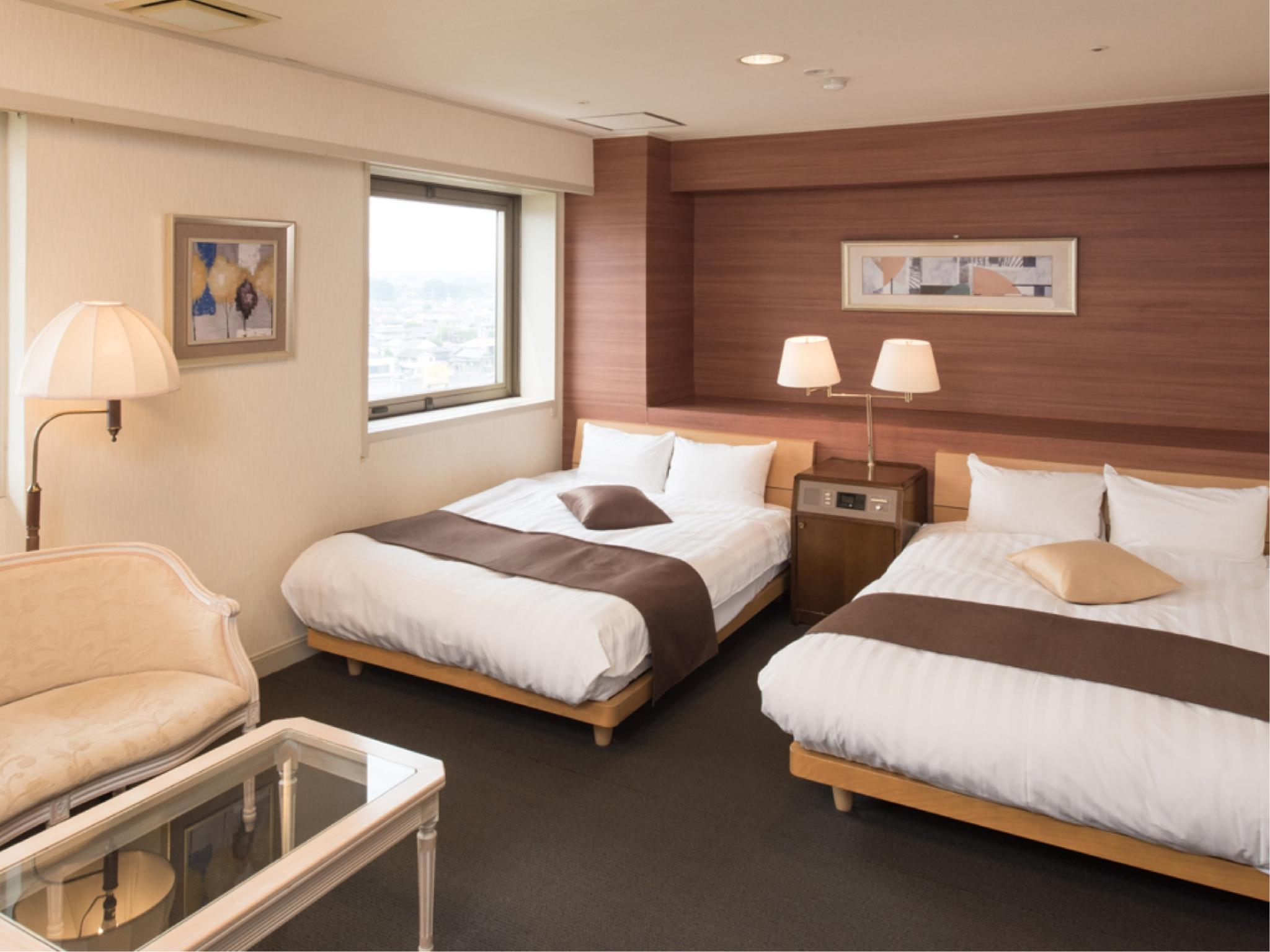 Deluxe Twin Room (Top Floor) (*Non-smoking from 2020/2/17)