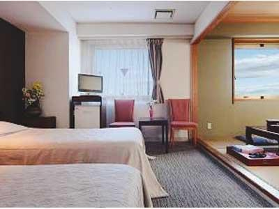 Japanese/Western-style Room (*Non-smoking from 2020/2/17)