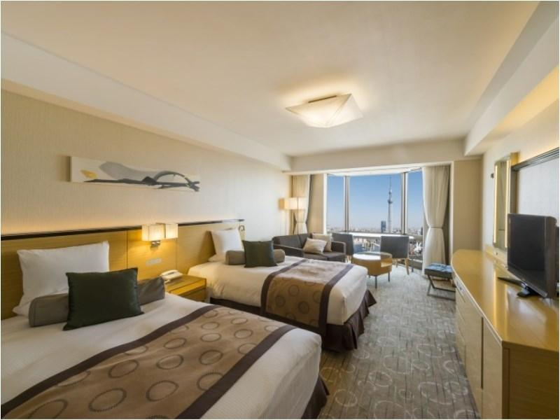 Executive Deluxe Twin Room (Tokyo Skytree View)