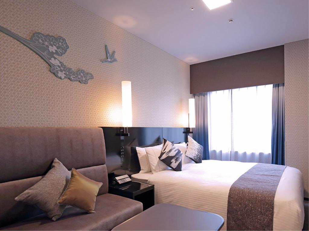 Double Room - Guestroom The Royal Park Hotel Kyoto Shijo