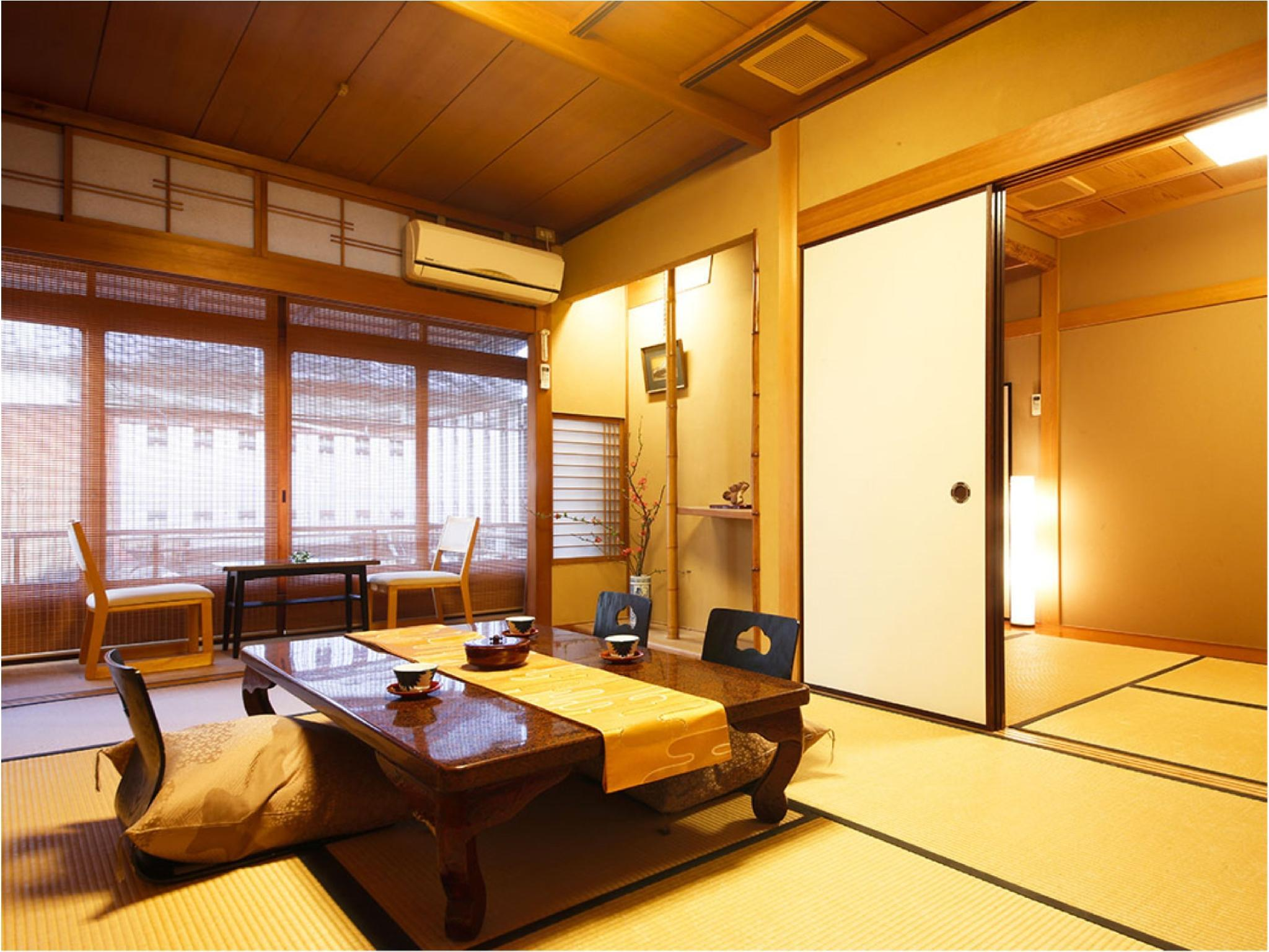 Japanese-style Room with Cypress Bath