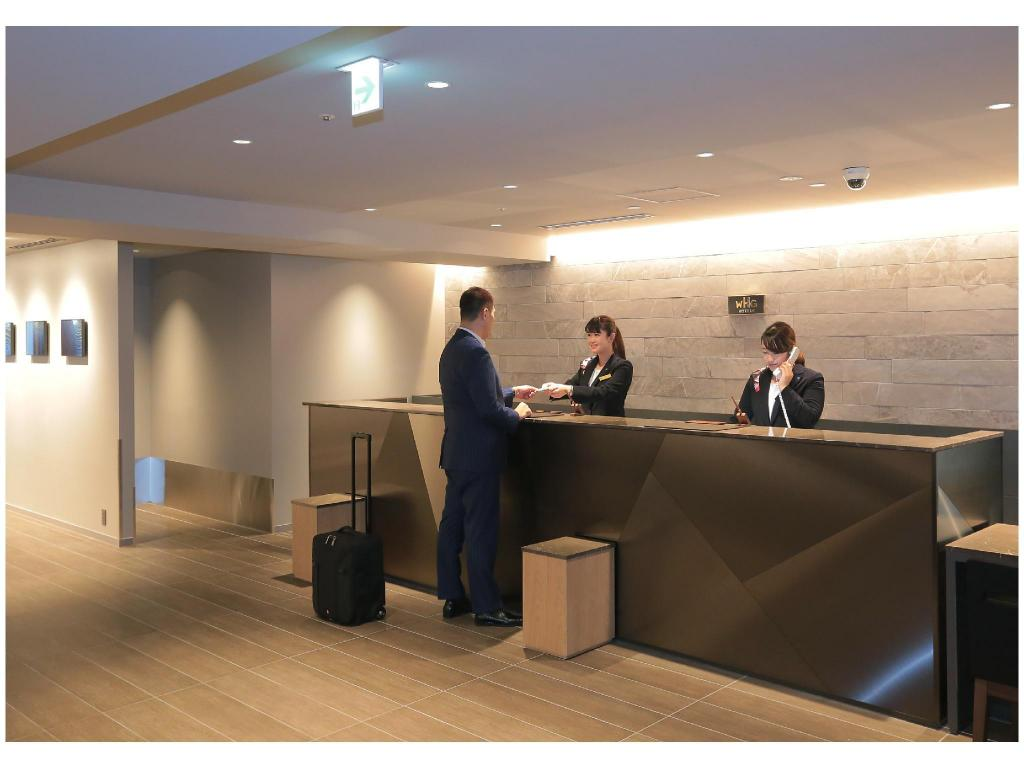 Lobby Kisarazu Washington Hotel