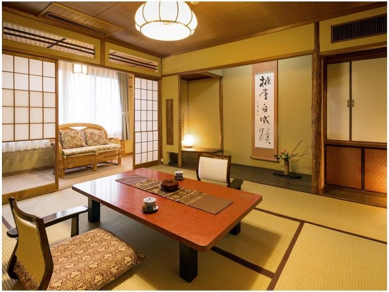 老松 和式房+寬走廊 (Japanese-style Room with Hiroen Space (Oimatsu Type))