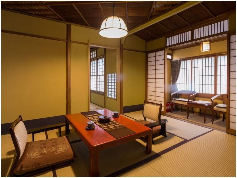 海人 和式房+床+寬走廊 (Japanese-style Room with Bed(s) & Hiroen Space (Ama Type))
