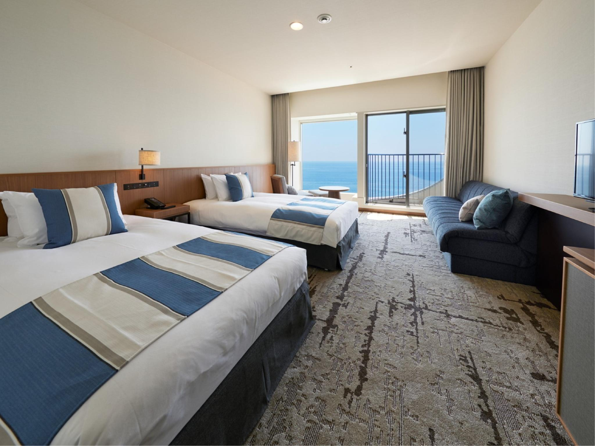 트윈룸 (Twin Room (Ocean View))