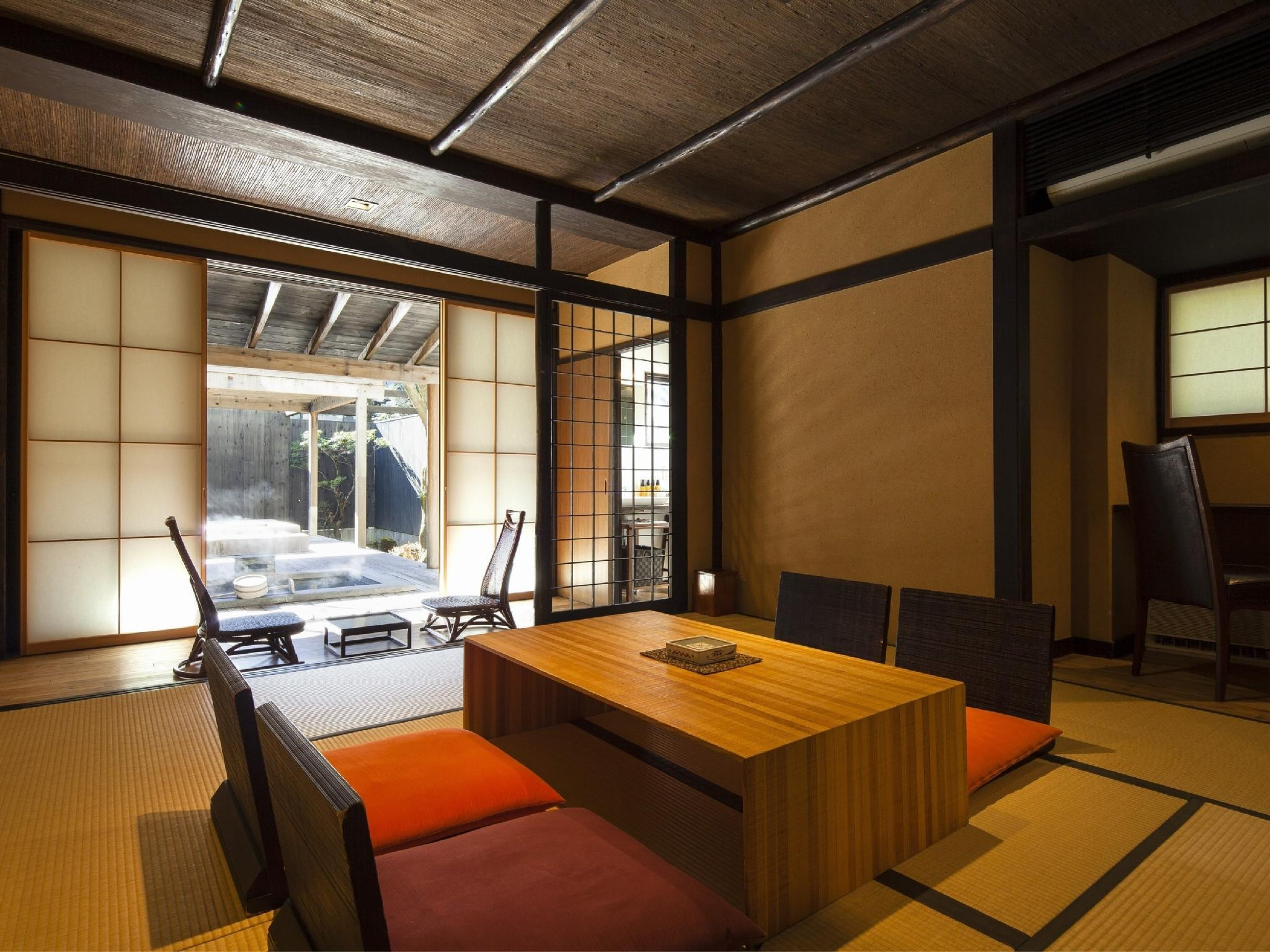 복층형 객실(ASHIKARISO/노천탕+족욕탕) (Maisonette with Open-air Bath + Foot Bath (Ashikariso Wing))