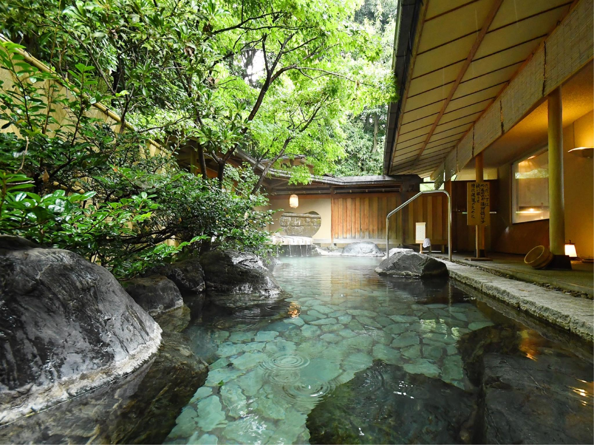 帶露天風呂和式房12.5帖 (Japanese-style Room with Hot Spring Open-air Bath(12.5 tatami))