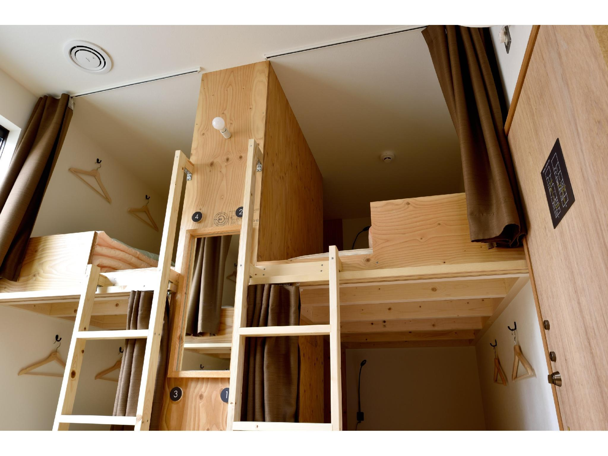 Mixed Dormitory Room (Guaranteed Bunk Bed Top & Bottom)